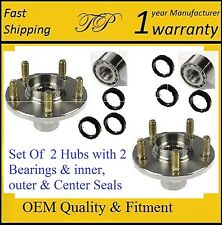 2 Rear Wheel Hub&Bearing&Seal For 93-07 SUBARU IMPREZA (RS, WRX, Outback Sport)