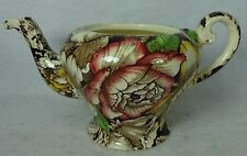 MYOTT Staffordshire China BERMUDA BROWN Multicolor BASE to the Mini Teapot 3-7/8