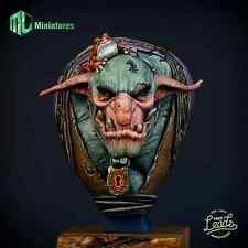MJ Miniatures The Troll Fantasy 1/9th Bust Unpainted kit