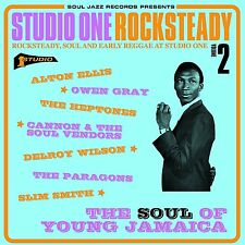 Soul Jazz Records Presents-Studio One Rocksteady 2, The Heptones CD NEU