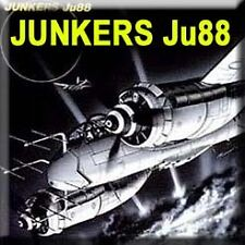 Aircraft Book German Junkers Ju88 WW2 Bomber Radar #007