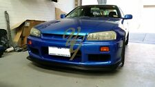 Nissan Skyline R34 Spec D1 Fiberglass Front lip for Facotry Series 1 Front Bar