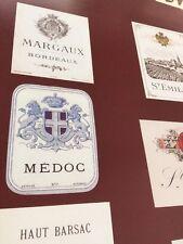 Bordeaux Wine Labels : Poster