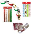 Paper Chains Christmas Hanging Decoration Tree Make Your Own Assorted Strips Kit
