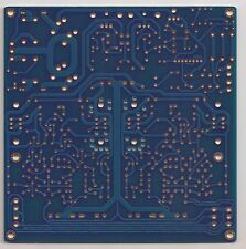 J-FET input cascode class A preamp/headpjone amp + onbrd reg + protection PCB  !