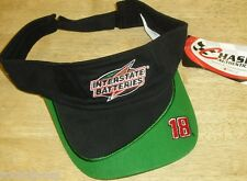 Bobby Labonte Interstate Batteries Nascar Racing Visor hat Adjustable NEW TAGS!