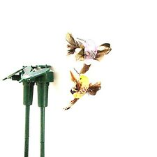 Popular Solar Powered Flying Fluttering Hummingbird Flying Birds Random Style