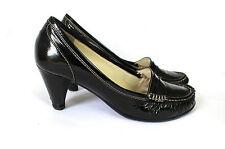 Lara Manni italiana de diseño zapatos de salón charol óptica cuero auténtico cuero 38