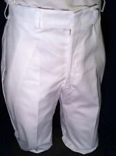 MEDICAL ASSIST MENS TROUSERS COOK UNIFORM PANTS US MILITARY SCRUBS WHITE 33R NWT