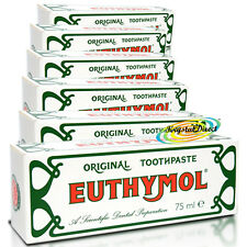 6x Euthymol Original Toothpaste Gum Teeth Cleans Tooth Paste Tube 75ml