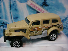 2014 BATTLE MISSION Design JUNGLE CRAWLER☆Army; beige/green Camo ☆Loose MATCHBOX