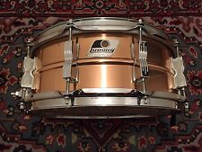 LUDWIG 5x14 Ten Lug Bronze Shell Snare Drum Upgraded With P86 Throw Off!!!