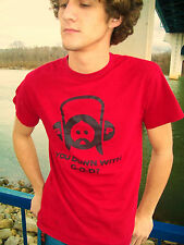 YOU DOWN WITH G-O-D? Red 100% Cotton Size S Graphic T-Shirt