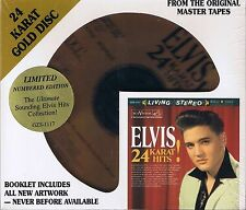 Presley, Elvis 24 Karat Hits DCC GOLD CD NEU Sealed Limited Edition No. 0761