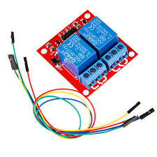 two 2 channel Relay module board shield with 1 pin jumper wire for arduino ARM