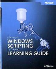 Microsoft  Windows  Scripting Self-Paced Learning Guide (Pro-Other)