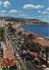 Alte Postkarte - Promenade in Nizza