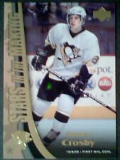 SIDNEY CROSBY 05/06 STARS IN THE MAKING ROOKIE INSERT CARD  SP
