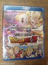 Dragon Ball Z Battle of Gods La Batalla de los Dioses BLU RAY Latin version