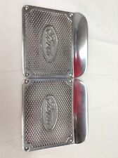 1948 - 1956 Ford pickup running board step plates with Ford oval