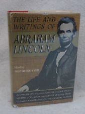Philip van Doren Stern LIFE & WRITINGS OF ABRAHAM LINCOLN Modern Library 1940