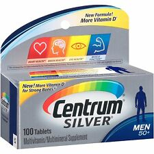 Centrum Silver Men's 50+ Tablets 100 Tablets