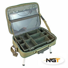 New NGT Tackle Box Bag Built In Bivvy Table Carp/Coarse Fishing 612