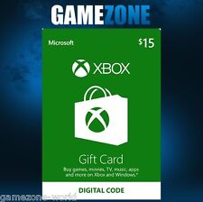 XBOX LIVE 15 DOLLARI USA GIFT CARD PUNTI USD Dollars for Microsoft XBOX 360/XBOX ONE