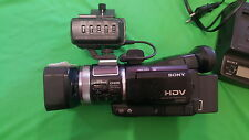 Sony videocámara, handycam, HDV 1080i/Mini DV, digital HD video camera grabador HD