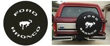 "Sparecover® ABC Series Ford Bronco 32"" Soft PVC Spare Tire Cover New Free Ship"