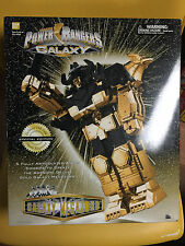 Power Rangers Lost Galaxy 14K Gold Plated Deluxe Gold Galaxy Megazord BRAND NEW