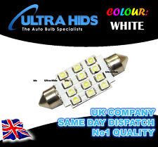 1x WHITE 16 SMD LED INTERIOR LIGHT BULB VAUXHALL CORSA B C D FRONTERA SRI VXR