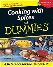 Cooking with Spices for Dummies by Jenna Holst (2001, Paperback)