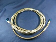NASCAR 10'  stainless steel fuel line hose AN-6, ST/90            T60