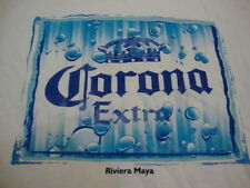 Corona Extra Mexican Import Beer Alcohol Liquor College Party White T Shirt L