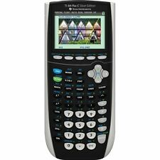 TI-84 Plus C Silver Edition Graphing Calculator with Upgraded 1300mAh Battery!