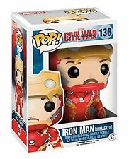 Captain America Civil War Ironman Unmasked Pop! Vinyl Figure - New in stock