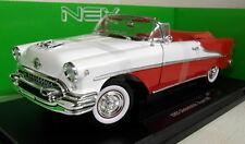 Nex 1/18 Scale 19869W 1955 Oldsmobile Super 88 Cabrio Two Tone Diecast model car