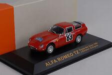 1964 Alfa Romeo TZ Coupe des Alpes 1964 rot Rolland / Augias 1:43 IXO Altaya