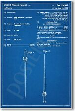 Star Wars Light Saber Patent - NEW Invention Patent Movie Art POSTER