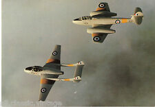 Postcard 344 - Plane/Aviation 370 The Royal Airforce Flying School Vintage Pair