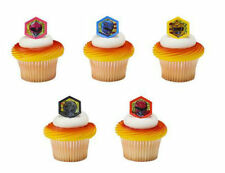 Power Rangers Morphinominal cupcake rings (24) favor cake topper 2 doz