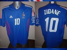 France Adidas Adult M Zidane 10 Football Soccer Shirt Jersey Vintage Real Madrid