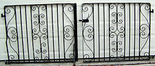 PIAR 47x40 Wrought Cast Iron Old English Garden Gate Vtg Gauge Will Sell Singles
