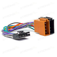 XTRONS 15-108 20Pin ISO WIRING HARNESS Adaptor Cable For Audiovox AEG Clatronic