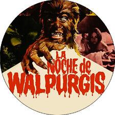 CHAPA/BADGE LA NOCHE DE WALPURGIS . pin button paul naschy paty shepard terror
