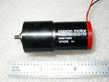 MAXON 12VDC  2 Watt  90 RPM  PRECISION GEAR MOTOR - 1 pc