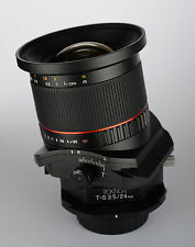 Rokinon 24mm F3.5 Wide Angle Tilt Shift Lens for Pentax Digital SLR
