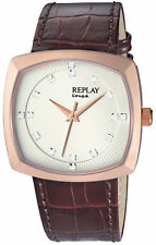 Replay Herrenuhr Armbanduhr RX8401BU Quarzuhr Replay-Box