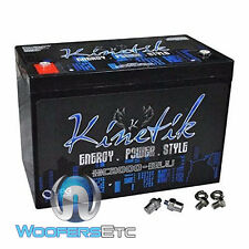 KINETIK HC2000BLU 2000W 12 VOLT CAR VEHICLE HIGH CURRENT POWER CELL BATTERY NEW